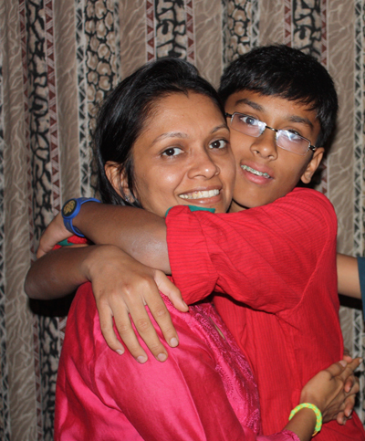 Living with someone with autism is beautiful. An autism success story in India