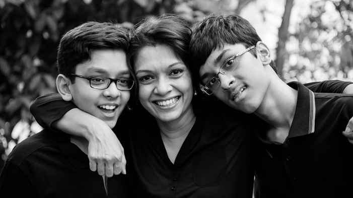 children with autism in india happy with their siblings