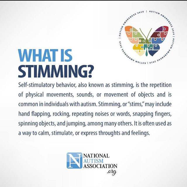 what is stimming autism