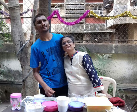 happy child with autism in India