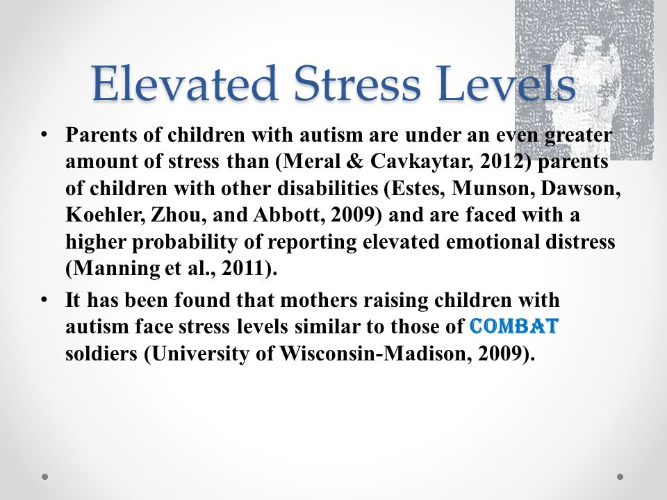 Elevated+Stress+Levels